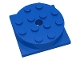 Part No: 3403c01  Name: Turntable 4 x 4 Square Base with Top (3403 / 3404)