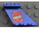 Part No: 3479pb02  Name: Tail 4 x 2 x 2 with Lego Logo Pattern on both Sides (Stickers)