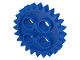 Part No: 3648  Name: Technic, Gear 24 Tooth (2nd Version - 1 Axle Hole)