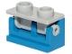 Part No: 3937c08  Name: Hinge Brick 1 x 2 Base with Light Bluish Gray Hinge Brick 1 x 2 Top (3937 / 3938)