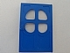 Part No: 4072  Name: Fabuland Door 1 x 6 x 7 with Round Pane in 4 Sections