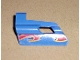 Part No: 47712pb02  Name: Technic, Panel Fairing #24 Small Short, Small Hole, Side B with Flame Pattern (Sticker) - Set 8646