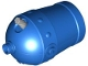 Part No: 54848c01  Name: Duplo Cannon Shooting with Large Axle Hole and Light Bluish Gray Wick