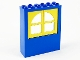 Part No: 6236c02  Name: Window 2 x 6 x 6 Freestyle with Yellow Window 1 x 3 x 4 Panes