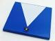 Part No: 6881pb09  Name: Tile 6 x 6 with White Triangle and Lamborghini Logo Pattern (Stickers) - Set 8214