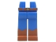 Part No: 970clg00pb01  Name: Hips and Long Legs with Dark Orange Boots Pattern (Woody)