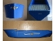 Part No: bfloat4c01pb01  Name: Boat Hull Unitary 52 x 12 x 6 1/3 with Cargo Carrier Pattern (Stickers) - Set 4030