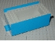 Part No: x759c01  Name: Boat Hull Smooth Middle 12 x 6 x 3 1/3, Deck Color Light Gray