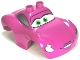 Part No: 98248pb01  Name: Duplo Car Body 2 Top Studs Sports Coupe Wide with Cars Holley Shiftwell Pattern