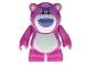 Part No: lotso1  Name: Bear 'Lotso' (Toy Story) - Complete Assembly