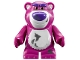 Part No: lotso2  Name: Bear 'Lotso' (Toy Story) with Dirt Pattern - Complete Assembly