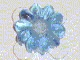 Part No: clikits005u  Name: Clikits Icon, Flower 10 Petals 2 x 2 Small with Hole (Undetermined version)