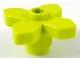 Part No: 4727  Name: Plant Flower 2 x 2 Leaves - Angular