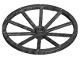 Part No: 33212  Name: Wheel Wagon Giant (56mm D.)