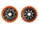 Part No: 45793c02  Name: Wheel 60 x 34 with Orange Tire 81 x 40 Balloon Offset Tread