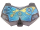 Part No: 98603pb014  Name: Large Figure Chest Armor Small with Dark Azure and Yellow Pattern (Gali)