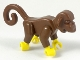 Part No: 2550c01  Name: Monkey with Yellow Hands and Feet - Complete Assembly