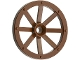 Part No: 4489a  Name: Wheel Wagon Large 33mm D., Hole Round for Wheels Holder Pin