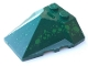 Part No: 47757pb03  Name: Wedge 4 x 4 Pyramid Center with Green Scale Pattern