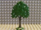 Part No: FTOak  Name: Plant, Tree Flat Oak painted with solid base