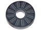 Part No: 15535pb01  Name: Tile, Round 2 x 2 with Hole with Rotor Blade Pattern