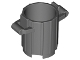 Part No: 2439  Name: Container, Trash Can with 2 Cover Holders