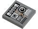 Part No: 3068bpb0485  Name: Tile 2 x 2 with SW Snowspeeder Circuitry Pattern (Sticker)