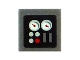 Part No: 3070bpb051  Name: Tile 1 x 1 with Gauges Pattern (Sticker) - Set 5970