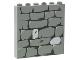 Part No: 3754pb07  Name: Brick 1 x 6 x 5 with Stone Wall Pattern