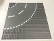 Part No: 44342px2  Name: Baseplate, Road 32 x 32 6-Stud Curve with White Dashed Lines Pattern
