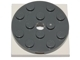 Part No: 60474c03  Name: Turntable 4 x 4 x 2/3 Top with White Square Base, Free-Spinning, Complete Assembly (60474 / 61485)