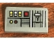 Part No: 85984pb214  Name: Slope 30 1 x 2 x 2/3 with SW Control Panel with Red, White and Yellow Square Buttons Pattern (Sticker) - Set 75158