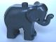 Part No: elephc01pb02  Name: Duplo Elephant Baby Standing, Angular Eye Pattern