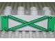 Part No: 3011pb015  Name: Duplo, Brick 2 x 4 with Green Girders Pattern