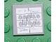 Part No: 3068bpb0159  Name: Tile 2 x 2 with Fingerprints File Joker Pattern (Sticker) - Set 7783