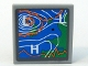 Part No: 3068bpb0166  Name: Tile 2 x 2 with Weather Map Pattern (Sticker) - Set 7739