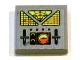 Part No: 3068bpb0627  Name: Tile 2 x 2 with Control Panel Pattern (Sticker) - Set 7692