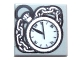 Part No: 3070bpb075  Name: Tile 1 x 1 with Pocket Watch and Chain Pattern