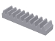 Part No: 3743  Name: Technic, Gear Rack 1 x 4