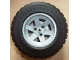 Part No: 44772c03  Name: Wheel 56mm D. x 34mm Technic Racing Medium, 3 Pin Holes with Black Tire 94.3 x 38 R (44772 / 92912)