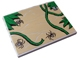 Part No: 4515pb022  Name: Slope 10 6 x 8 with Spiders and Vines Pattern (Sticker) - Set 7623
