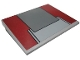 Part No: 4515pb024  Name: Slope 10 6 x 8 with SW AT-TE Top Armor Plate Pattern (Sticker) - Set 7675