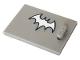 Part No: 4533pb018  Name: Container, Cupboard 2 x 3 x 2 Door with Bat Girl Pattern (Sticker) - Set 41232