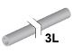 Part No: 75c03  Name: Hose, Rigid 3mm D.  3L / 2.4cm