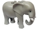 Part No: eleph3c01pb01  Name: Duplo Elephant Adult Stationary Head with Molded Tusks