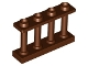 Part No: 15332  Name: Fence Spindled 1 x 4 x 2 with 4 Studs