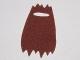 Part No: 18202  Name: Minifigure, Cape Cloth, Tattered, Fur Effect (Hun Warrior Cape)
