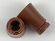 Part No: 2536d  Name: Plant, Tree Palm Trunk - Short Connector, Axle Hole with 2 Inside Prongs