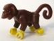Part No: 2550c01  Name: Monkey with Yellow Hands and Feet