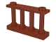Part No: 30055  Name: Fence Spindled 1 x 4 x 2 with 2 Studs